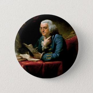 Portrait of Benjamin Franklin Button