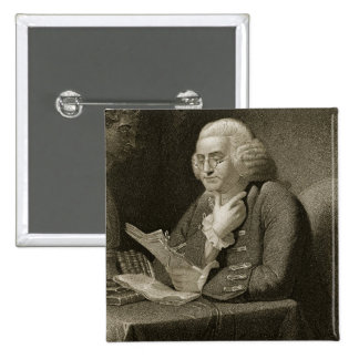 Portrait of Benjamin Franklin, engraved by Thomas Button