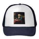 Portrait of Benjamin Franklin Hats