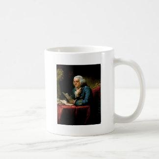 Portrait of Benjamin Franklin Coffee Mugs