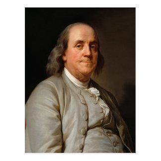 Portrait of Benjamin Franklin Postcard