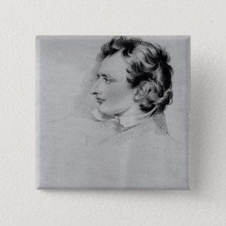 Portrait of Benjamin Robert Haydon Pinback Button
