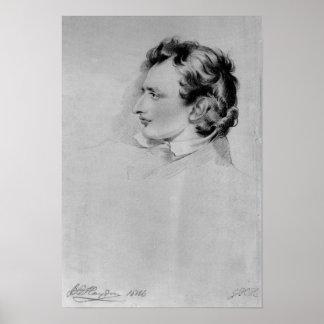 Portrait of Benjamin Robert Haydon Poster
