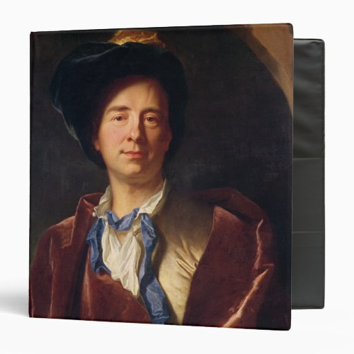 Portrait of Bernard le Bovier de Fontenelle Vinyl Binders