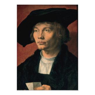 Portrait of Bernard von Reesen by Durer Card