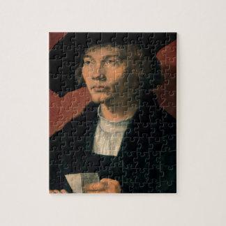 Portrait of Bernard von Reesen by Durer Puzzle