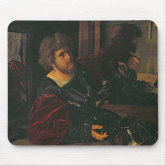 Portrait of Bernardo di Salla Mouse Pad