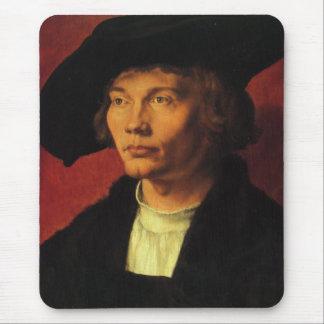 Portrait of Bernhard von Reesen by Albrecht Durer Mouse Pad