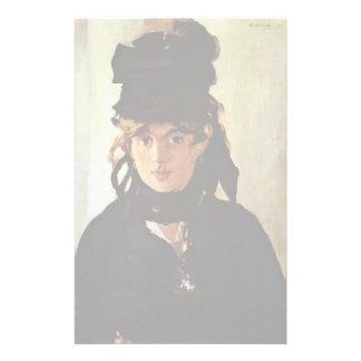 Portrait Of Berthe Morisot Customized Stationery