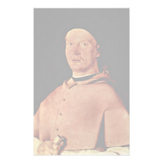 Portrait Of Bishop Bernardo De 'Rossi By Lotto Lor Stationery Design