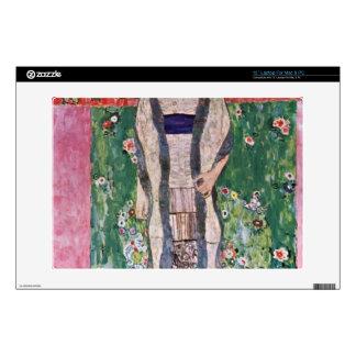 """Portrait of Bloch-Bauer by Gustav Klimt 13"""" Laptop Skins"""