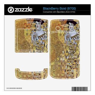 Portrait of Block-Bauer 2 by Gustav Klimt Decal For BlackBerry