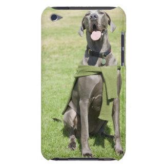 Portrait of Blue Great Dane iPod Touch Case