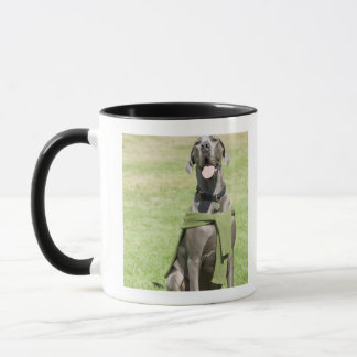 Portrait of Blue Great Dane Mug