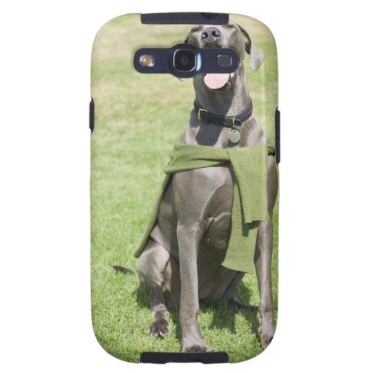 Portrait of Blue Great Dane Samsung Galaxy S3 Case