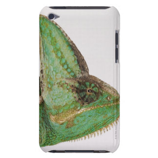 Portrait of boldly colored Yemen chameleon iPod Case-Mate Case
