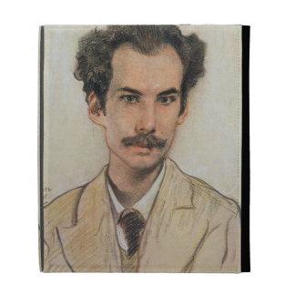 Portrait of Boris Nikolayevich Bugaev (1880-1934) iPad Folio Covers