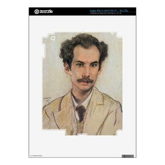 Portrait of Boris Nikolayevich Bugaev (1880-1934) Skin For iPad 3