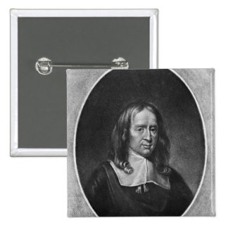 Portrait of Bruno Ryves Pin