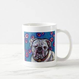 Portrait of Bubbly Bulldog Mug