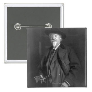 "Portrait of ""Buffalo Bill"" Cody Button"