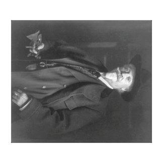 "Portrait of ""Buffalo Bill"" Cody Photograph Canvas Print"