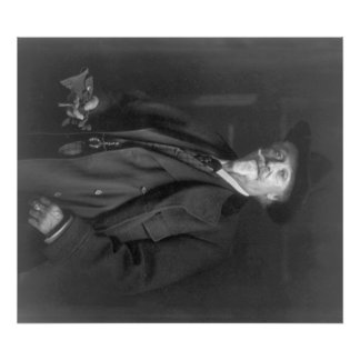 "Portrait of ""Buffalo Bill"" Cody Photograph Poster"