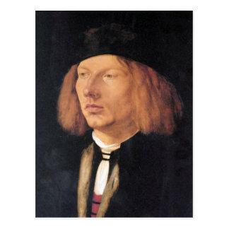 Portrait of Burkard von Speyer by Durer Postcards