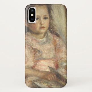 Portrait of Caillebotte Children by Pierre Renoir iPhone X Case