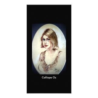 Portrait of Calliope Oz by Colin Merrill Card