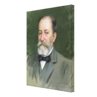 Portrait of Camille Saint-Saens  1903 Canvas Print