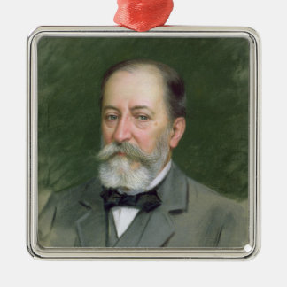 Portrait of Camille Saint-Saens  1903 Metal Ornament