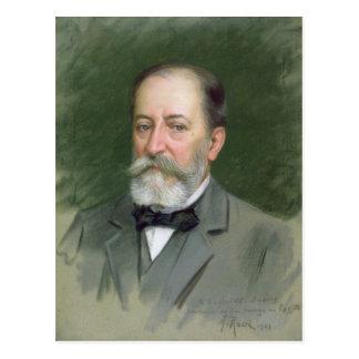 Portrait of Camille Saint-Saens  1903 Postcard