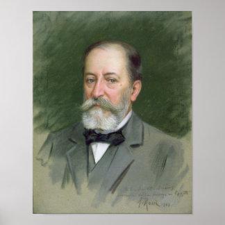 Portrait of Camille Saint-Saens  1903 Poster