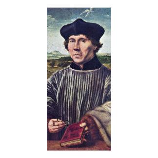 Portrait Of Canon Stephen Gardiner Rack Card Design