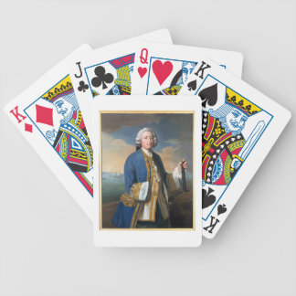 Portrait of Captain David Brodie (1709-87) Holding Bicycle Playing Cards