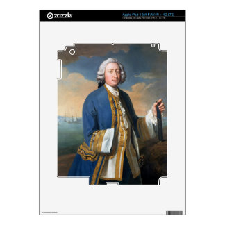 Portrait of Captain David Brodie (1709-87) Holding iPad 3 Decal