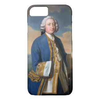 Portrait of Captain David Brodie (1709-87) Holding iPhone 8/7 Case