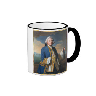 Portrait of Captain David Brodie (1709-87) Holding Ringer Coffee Mug
