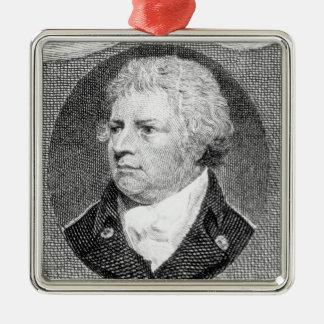 Portrait of Captain Thomas Foley Metal Ornament