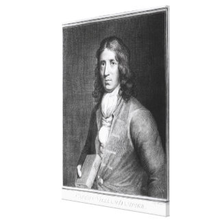Portrait of Captain William Dampier Canvas Print