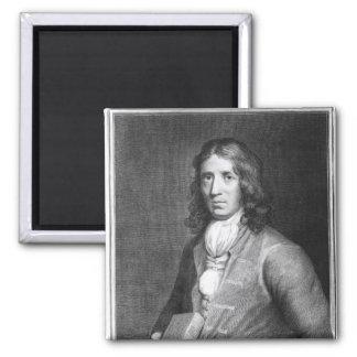 Portrait of Captain William Dampier Fridge Magnets