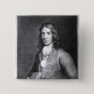 Portrait of Captain William Dampier Pinback Button