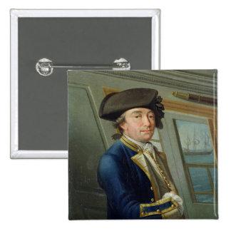 Portrait of Captain William Locker (1731-1800) 176 Pinback Button