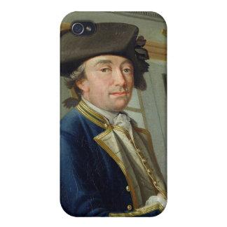 Portrait of Captain William Locker (1731-1800) 176 Covers For iPhone 4