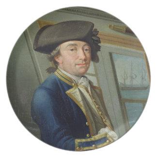 Portrait of Captain William Locker (1731-1800) 176 Melamine Plate