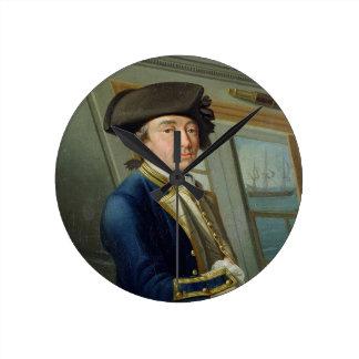 Portrait of Captain William Locker (1731-1800) 176 Round Clock