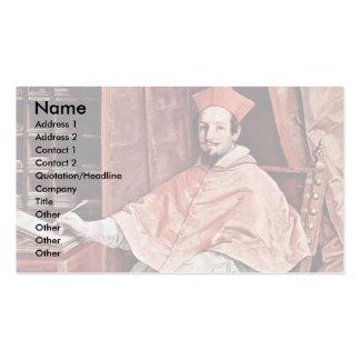 Portrait Of Cardinal Bernardino SpadaBy Reni Guido Business Cards