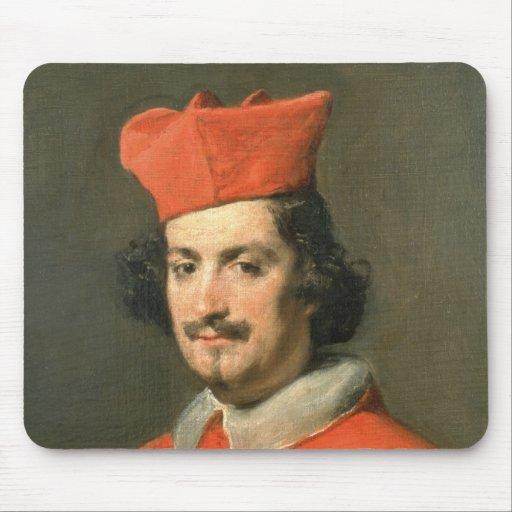 Portrait of Cardinal Camillo Astali Pamphili Mouse Pad