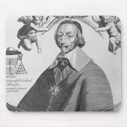 Portrait of Cardinal de Richelieu Mouse Pad